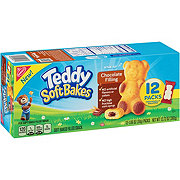 Nabisco Teddy Grahams Soft Bakes Chocolate Filling