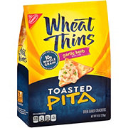 Nabisco Wheat Thins Garlic Herb Toasted Pita Crackers