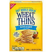 Nabisco Wheat Thins Hint of Salt Crackers