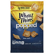 Nabisco Wheat Thins Popped Sea Salt Chips