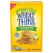 Nabisco Wheat Thins Reduced Fat Crackers