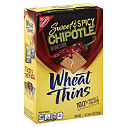 Nabisco Wheat Thins Sweet & Spicy Chipotle Crackers