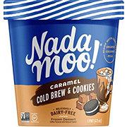 NadaMoo! Caramel Cold-Brew & Cookies Dairy-Free Frozen Dessert