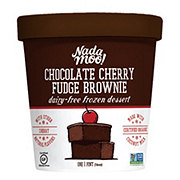NadaMoo! Chocolate Cherry Fudge Brownie Dairy-Free Frozen Dessert
