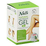 Nads Natural Hair Removal Gel Kit