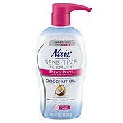 Nair Sensitive Formula Shower Power Coconut Oil