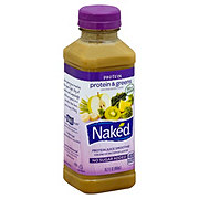 Naked Juice Protein And Greens  Protein Juice Smoothie