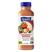 Naked Juice Strawberry Banana 100% Juice Smoothie
