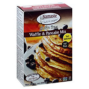 Namaste Foods Waffle & Pancake Mix, Two Batches