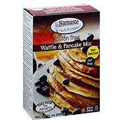 Namaste Foods Waffle & Pancake Mix, Two Batches