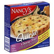 Nancy's Quiche Cheese Trio