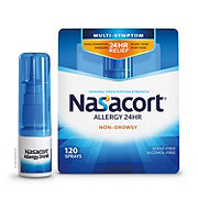 Nasacort Allergy 24 Hour Multi-Symptom Nasal Allergy 120 Sprays