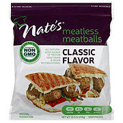 Nate's Meatless Meatballs Classic Flavor