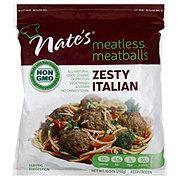 Nate's Meatless Meatballs Zesty Italian