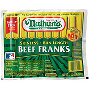 Nathan's Family Pack Skinless Beef Franks