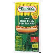 Nathan's Jumbo Foot Long Beef Franks