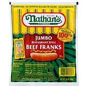 Nathan's Jumbo Restaurant Style Beef Franks