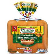 Nathan's Restaurant Style Hot Dog Buns