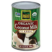 Native Forest Classic Unsweetened Organic Coconut Milk