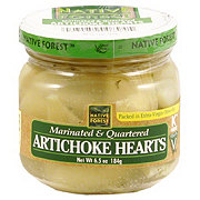 Native Forest Marinated and Quartered Artichoke Hearts