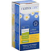 Natracare Regular with Applicator Organic All Cotton Tampons