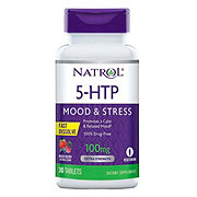 Natrol 5-HTP 100 Mg Fast Dissolving Wild Berry Flavored Tablets