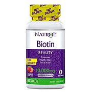 Natrol Biotin 10000 MCG Fast Disslove, Strawberry