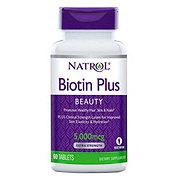 Natrol Biotin Plus