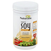 Naturade Natural Flavor 100% Soy Protein Booster