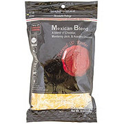 Natural & Kosher Mexican Blend Shredded Cheese