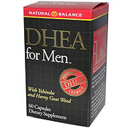 Natural Balance DHEA Super Hormone For Men Capsules