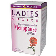 Natural Balance Ladies Choice Menopause Support Capsules