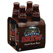 Natural Brew Draft Root Beer 12 oz Bottles