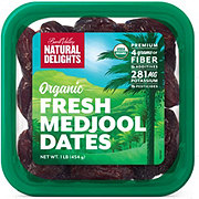 Natural Delights Organic Whole Medjool Dates