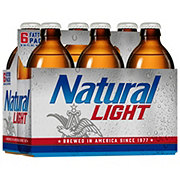 Natural Light Beer 12 oz Longneck Bottles