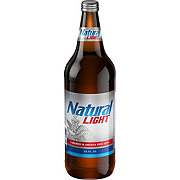 Natural Light Beer Bottle
