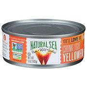 Natural Sea Chunk Light Yellow Fin Tuna