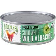 Natural Sea White Albacore Salted Tuna