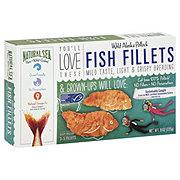 Natural Sea Wild Alaskan Pollock Fish Fillets