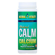 Natural Vitality Natural Calm Plus Calcium Original