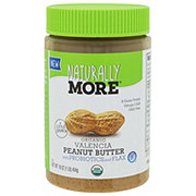 Naturally More Organic Valencia Peanut Butter with Probiotic