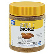 Naturally More Roasted Almond Butter With Probiotic & Flax
