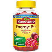 Nature Made Cherry & Wild Berry Energy B12 1000 mcg Adult Gummies