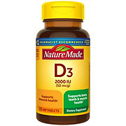 Nature Made D3 2000 IU Tablets