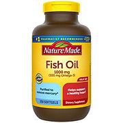Nature Made Fish Oil 1000 mg Omega-3 300 mg Liquid Softgels