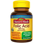 Nature Made Folic Acid 400 mcg Tablets