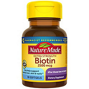 Nature Made High Potency Biotin 2500 mcg Liquid Softgels