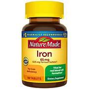 Nature Made Iron 65 mg Tablets Value Size