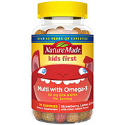 Nature Made Kids First Multivitamin With Omega 3