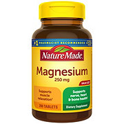 Nature Made Magnesium 250 mg Tablets Value Size
